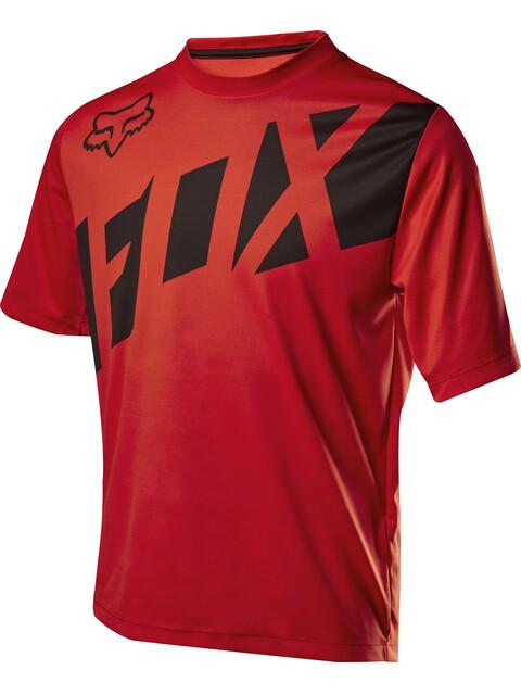 Fox Ranger Koszulka kolarska, krótki rękaw Mężczyźni czerwony/czarny
